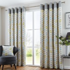 Lora Eyelet Curtains (Set of 2)