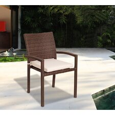 Aquia Creek Dining Arm Chair with Cushion (Set of 4)