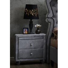 Grant 2 Drawer Nightstand by Rosdorf Park