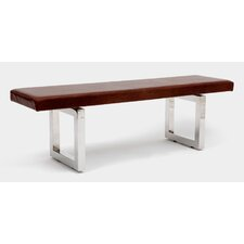 GAX Leather Bench by ARTLESS