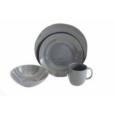 Flow 16 Piece Dinnerware Set, Service for 4