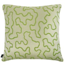 Décor Squiggly Indoor/Outdoor Sunbrella Throw Pillow