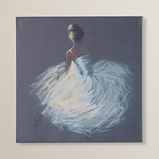 'Tutu' by Hazel Bowman Framed Wall art on Wrapped Canvas
