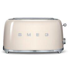50s Style 4 Slice Toaster