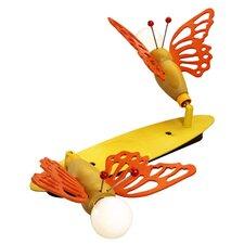 Deckenleuchte 2-flammig Schmetterling