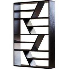 Bonnie Open Zig Zag 71 Standard Bookcase by Latitude Run