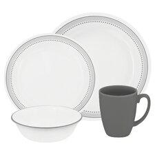 Livingware 16 Piece Dinnerware Set, Service for 4