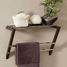Pedaso Wall Mounted Towel Shelf