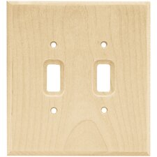 quick view double switch wall plate - Decorative Switch Plates