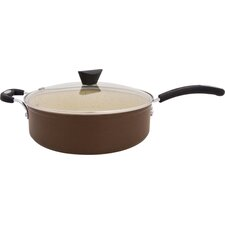 5.3 Qt. Earth Stone All-In-One Saucepan with Lid