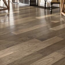"5-3/4"" Engineered Walnut Hardwood Flooring in Walnut Garden"