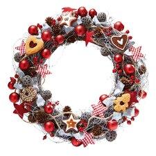 Weihnachtsbäckerei 40cm Wreath