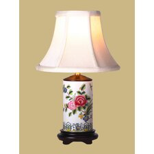 "Floral Pencil 19"" Table Lamp"