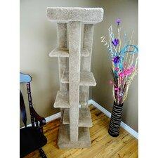 """Five Level 70"""" Cat Tree"""