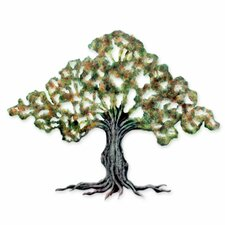 Tule Tree Collectible Steel Wall Décor