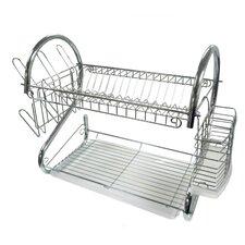 """22"""" Chrome Dish Rack"""