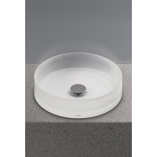 Luminist Circular Vessel Bathroom Sink by Toto