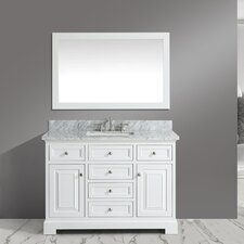 Rochelle 48 Bathroom Sink Vanity Set with Mirror by Urban Furnishings