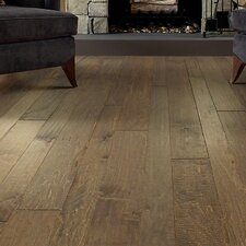 Farmton Random Width Engineered Maple Hardwood Flooring in Pireway