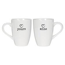 Chic 2-Piece Mug Set