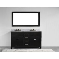 San Clemente 60 Double Vanity Set by Innoci-USA