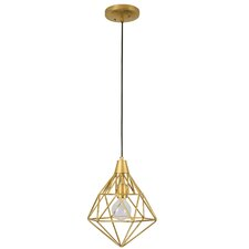 Facet 1-Light Pendant