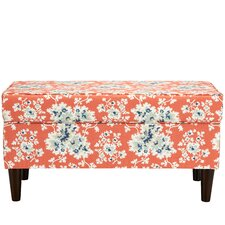Barbour Cotton Upholstered Storage Bedroom Bench by August Grove