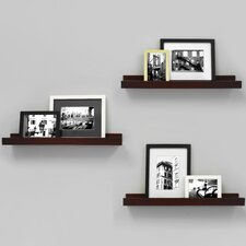 Edge Picture Frame Ledge (Set of 3) by nexxt Design