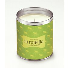 Mosquitoes Citronella Jar Candle