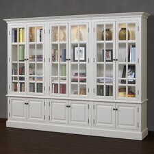 French Restoration Brighton 86 Oversized Set Bookcase by A&E Wood Designs