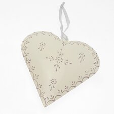 Fair Trade Heart Recycled Aluminium Hanging Wall Décor