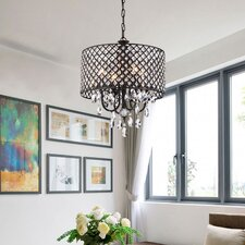 Marya 4-Light Drum Chandelier