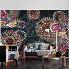 Corro 2.54m L x 368cm W Roll Wallpaper