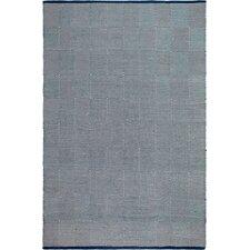 Zen Hand Woven Blue/White Indoor/Outdoor Area Rug