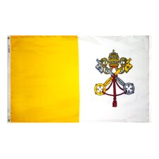 Papal Vatican Traditional Flag