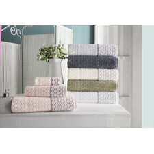 Isola 4 Piece Towel Set (Set of 4)