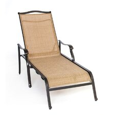 Monaco Chaise Lounge Chair by Hanover