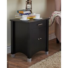 Derry 1 Drawer Nightstand by Andover Mills