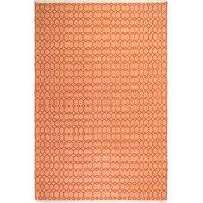Estate Hand-Woven Orange Indoor/Outdoor Area Rug