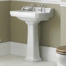 Carlton 50cm Full Pedestal Basin