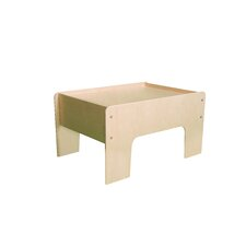 Kids Rectangular Train Table by Little Colorado
