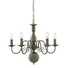 Greythorne 5 Light Candle Chandelier