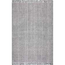 Fraida Hand-Woven Gray Area Rug