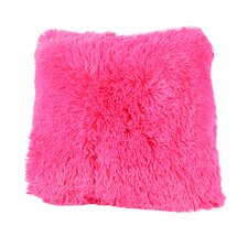 Carnot Very Soft and Comfy Plush Faux fur Throw Pillow (Set of 2)