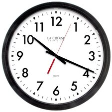 "Commercial Analog 14"" Wall Clock"