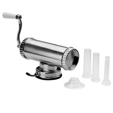 From Scratch 3 Nozzle Aluminium Sausage Maker