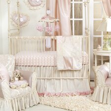 Victoria 3 Piece Crib Bedding Set