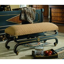 Regency Upholstered Bedroom Bench by Eastern Legends