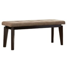 Inez Wood Entryway Bench by Andover Mills