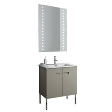 New York 26 Single Bathroom Vanity Set with Mirror by ACF Bathroom Vanities